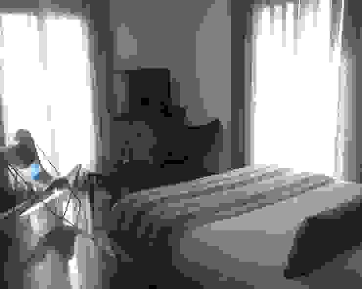 Villa R B.A-Studio Mediterranean style bedroom