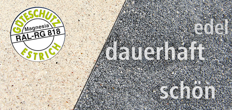 モダンスタイルの 玄関&廊下&階段 の A. Chini GmbH & CO.KG Fußbodenbau モダン