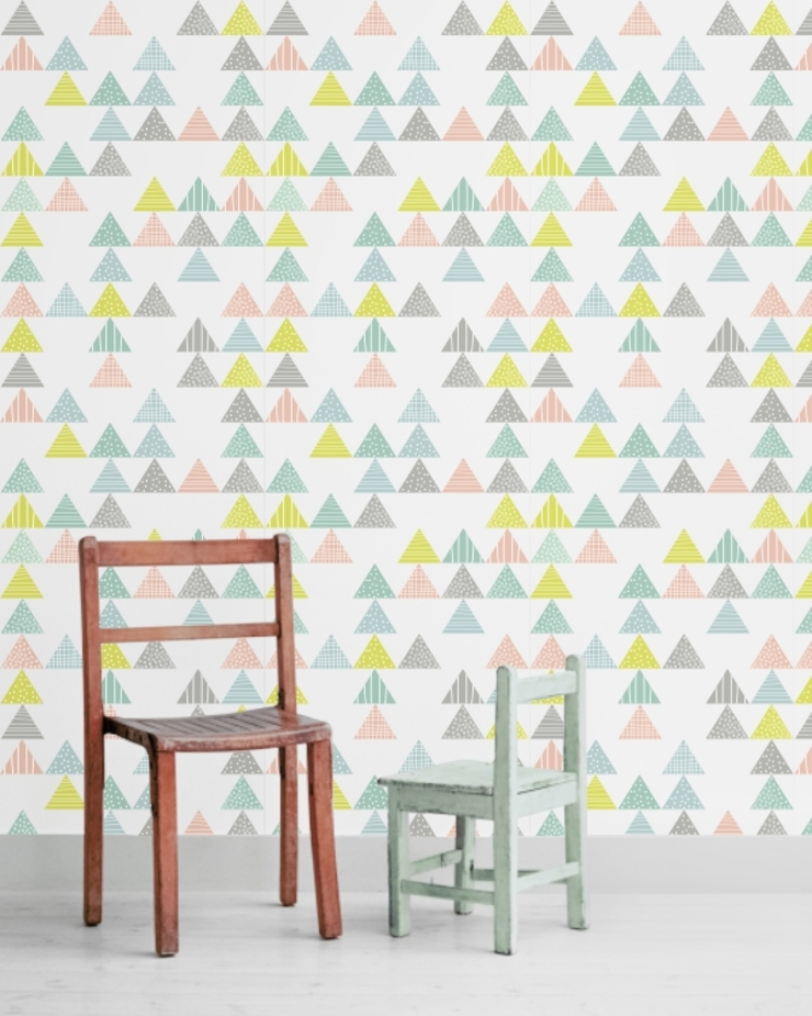 Papel de parede modelo Trees por Housed - Wallpapers Escandinavo Papel
