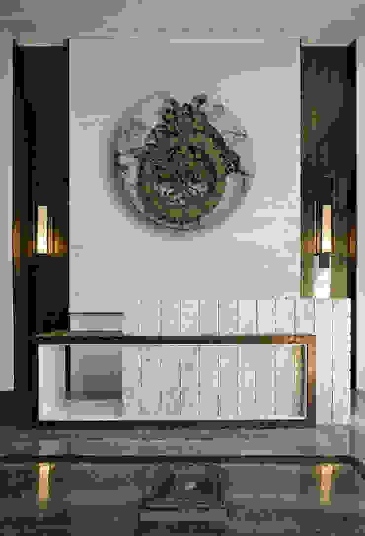Zegar Zegary Design Eklektyczny korytarz, przedpokój i schody