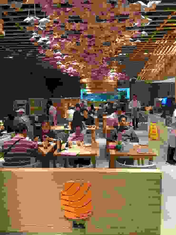 Neta fish and meat @ The street Rachada: เอเชีย  โดย Glam interior- architect co.,ltd, เอเชียน แกรนิต
