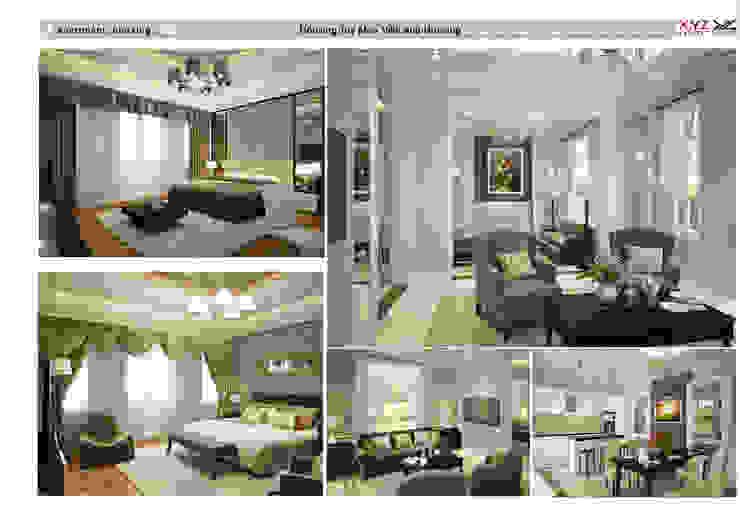 Một số dự án điển hình công ty cổ phần X.Y.Z đã triển khai Phòng khách phong cách Bắc Âu bởi Công ty cổ phần X.Y.Z Bắc Âu