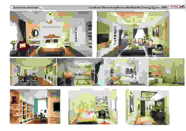 Một số dự án điển hình công ty cổ phần X.Y.Z đã triển khai Phòng khách phong cách kinh điển bởi Công ty cổ phần X.Y.Z Kinh điển