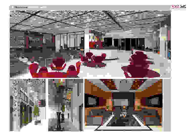 Một số dự án điển hình công ty cổ phần X.Y.Z đã triển khai Phòng học/văn phòng phong cách hiện đại bởi Công ty cổ phần X.Y.Z Hiện đại
