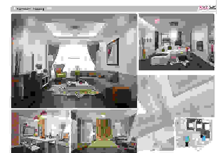 Apartment Keangnam-Contemporary Style bởi Công ty cổ phần X.Y.Z Hiện đại