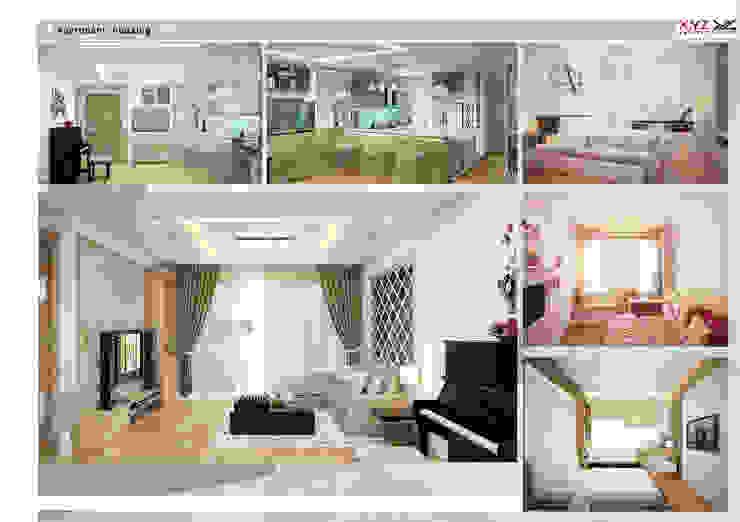 Apartment Platium Nguyenconghoan-Contemporary style bởi Công ty cổ phần X.Y.Z Hiện đại