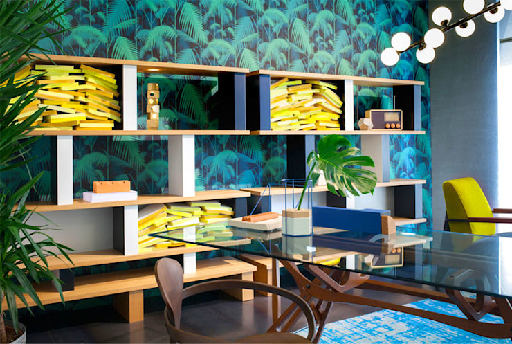 Colorful Texture - Living Room by Urban Living Designs Modern