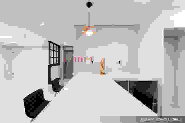 의정부 호원동 신원아파트 인테리어 모던스타일 주방 by 디자인플러스 모던