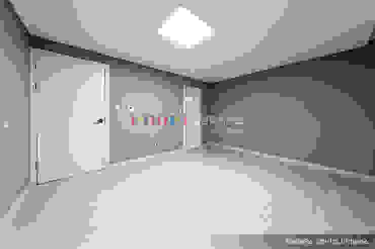의정부 호원동 신원아파트 인테리어 모던스타일 미디어 룸 by 디자인플러스 모던