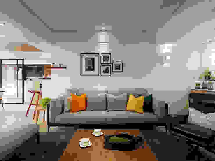 Living room by 星葉室內裝修有限公司, Scandinavian