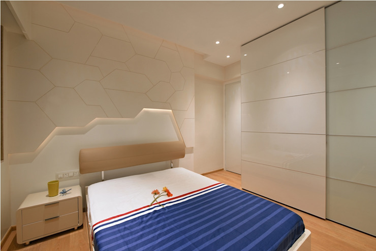 Sons bedroom Modern style bedroom by homify Modern