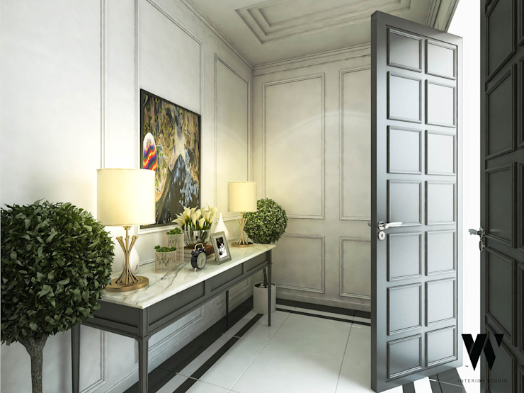 Top Desain Ruang Tamu Di Teras Rumah  rumah keluarga elegan dengan interior modern klasik