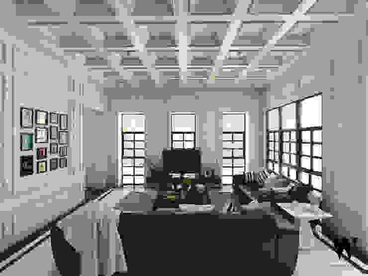 w.interiorstudio Living room White