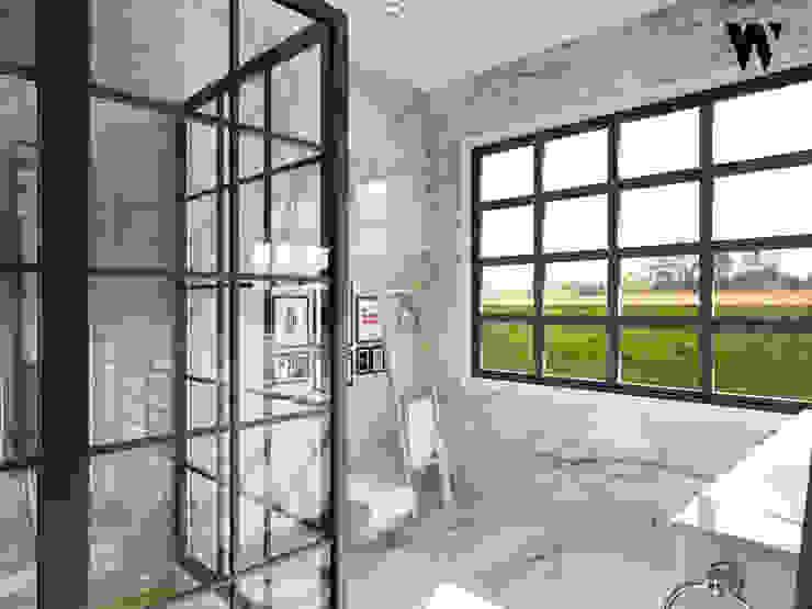クラシックスタイルの お風呂・バスルーム の w.interiorstudio クラシック