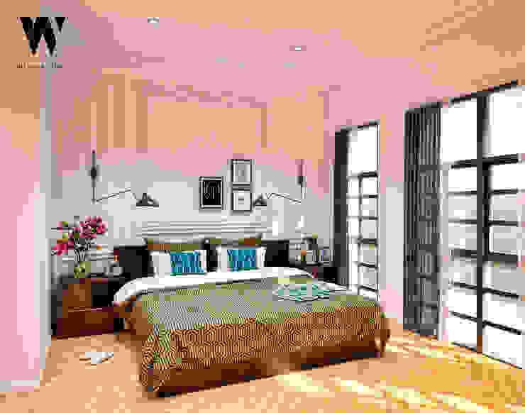 Phòng ngủ phong cách kinh điển bởi w.interiorstudio Kinh điển