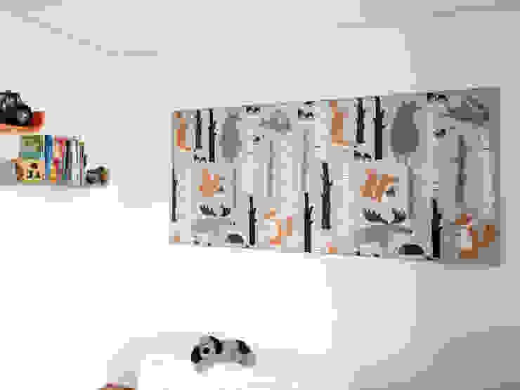 Akustikbild Forest Moderne Kinderzimmer von freiraum Akustik Modern