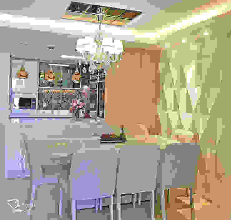 Sala de jantar Salas de jantar modernas por Deborah Iachinski Arquitetura & Interiores Moderno