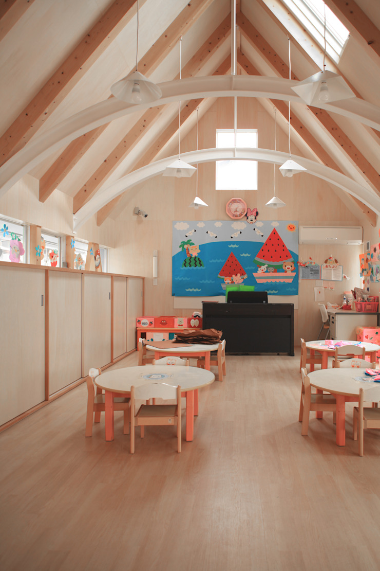 の ざ き 設 計 Scandinavian style schools