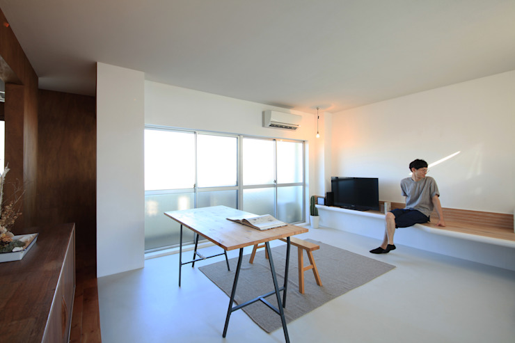 の ざ き 設 計 Minimalist living room