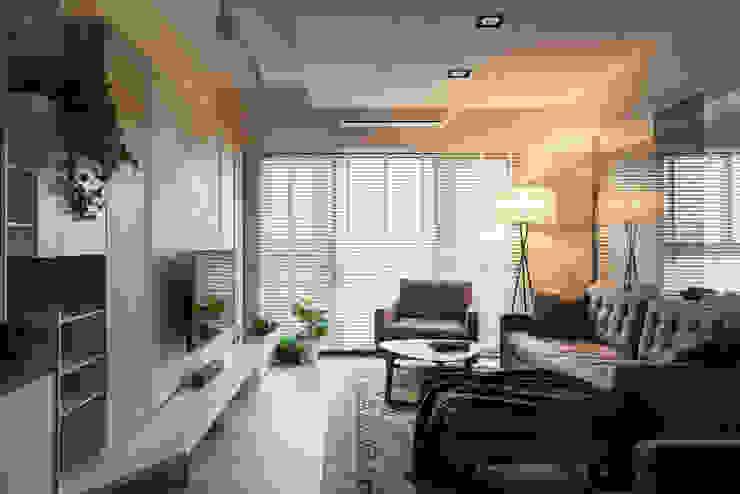 Living room by 思維空間設計  , Modern