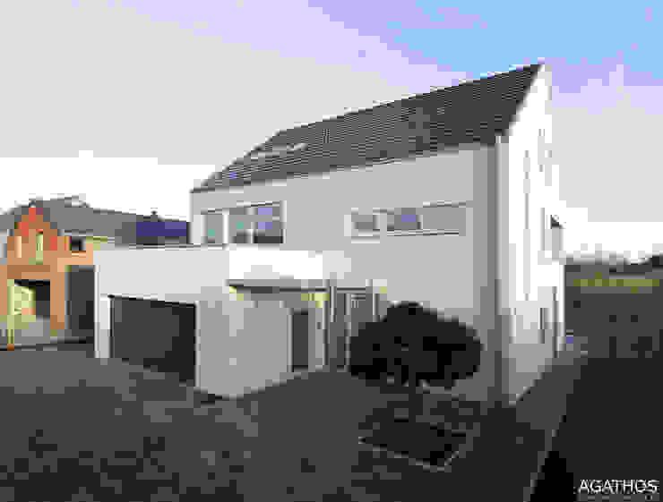 Einfamilienhaus in Lontzen:  Häuser von Architekturbüro Sutmann,Modern
