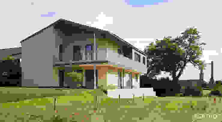 現代房屋設計點子、靈感 & 圖片 根據 Architekturbüro Sutmann 現代風
