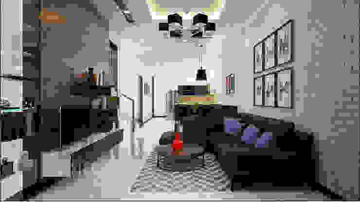 Salas de estar  por DCOR , Asiático