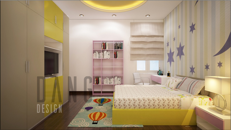 Bedroom by DCOR, Asian