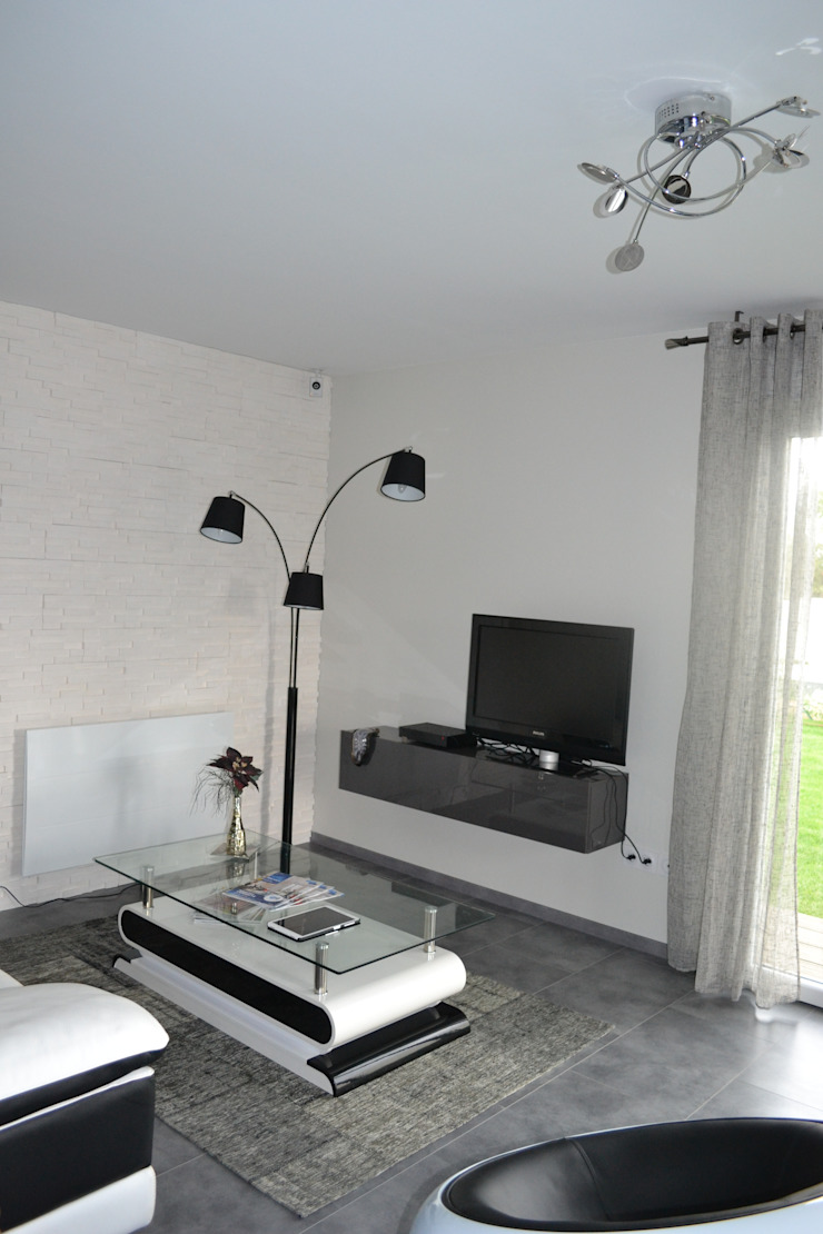salon Salon moderne par KREA Koncept Moderne