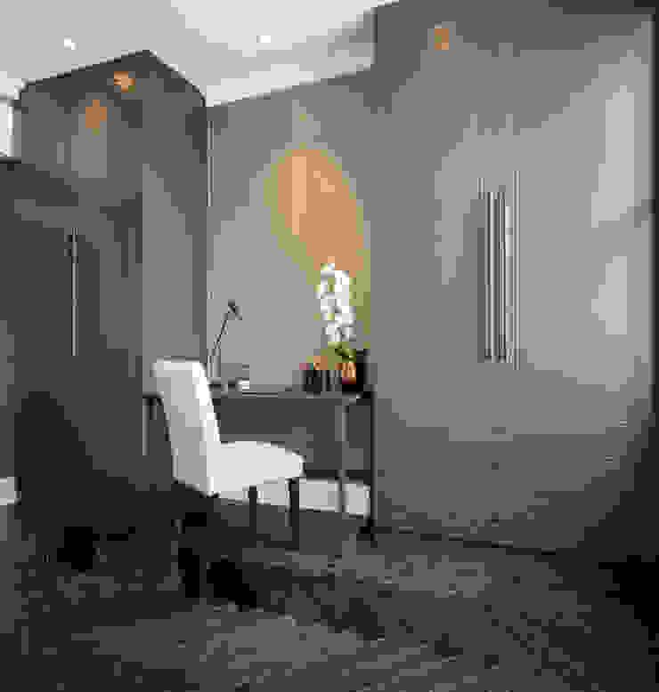 South Kensington Residential Refurbishment Cuartos de estilo moderno de SWM Interiors & Sourcing Ltd Moderno Madera Acabado en madera