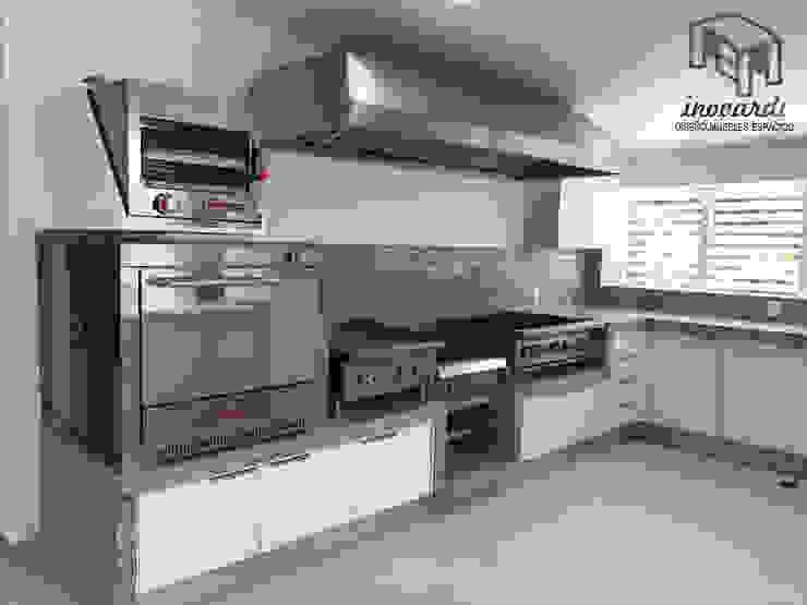 Cocina y Campana Inovardi Muebles de cocinas Madera Blanco
