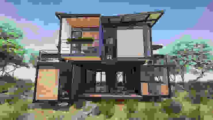 Modern houses by EnTRE+ Modern