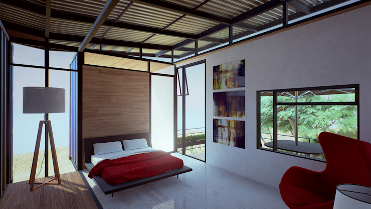 Modern Bedroom by EnTRE+ Modern