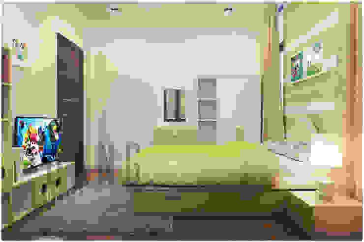 phòng ngủ Phòng trẻ em phong cách châu Á bởi DCOR Châu Á