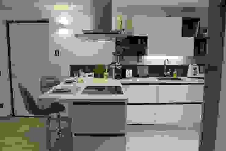 ห้องครัว โดย SILVIA ZACCARO ARCHITETTO, โมเดิร์น