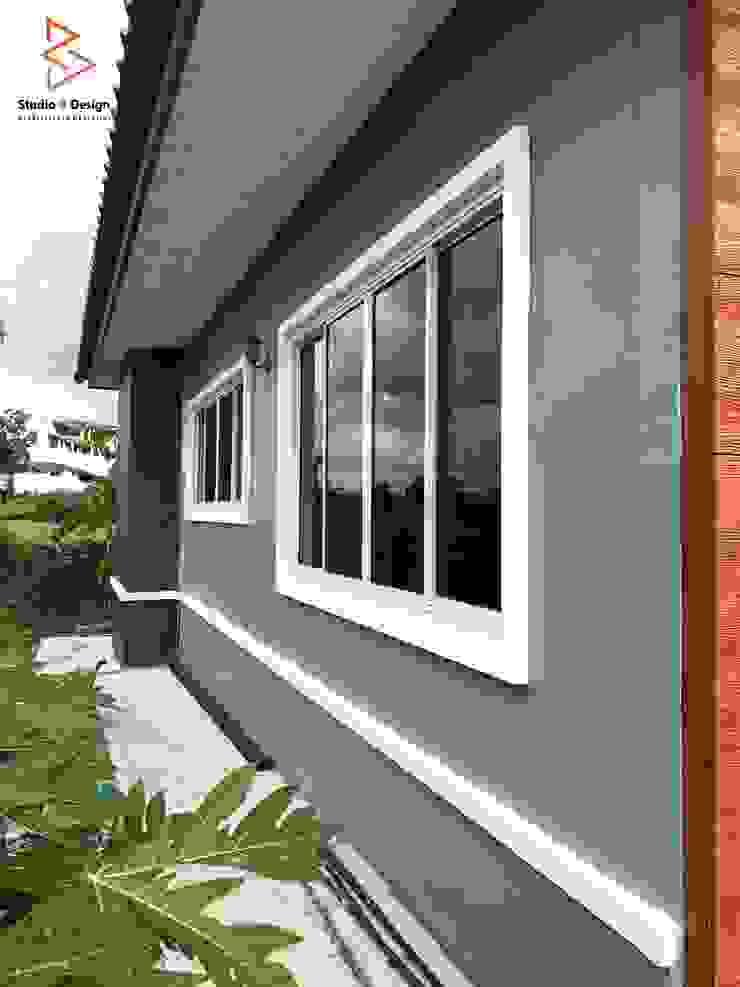 งานสร้างบ้านพักผ่อนชั้นเดียว โดย StudioBdesign