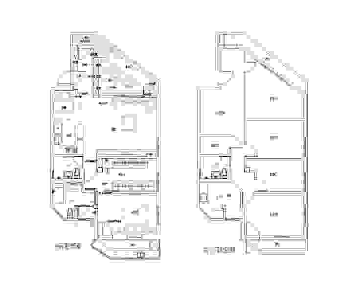 原平面配置V.S新平面配置 根據 Hi+Design/Interior.Architecture. 寰邑空間設計 隨意取材風