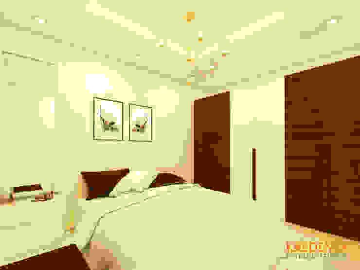 CASA BELVIEW MASTER BEDROOM by Kredenza Interior Studios Country
