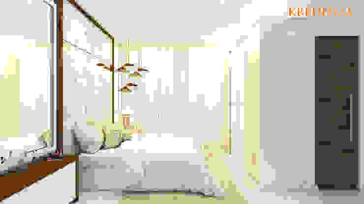 BEDROOM DESIGNS Modern style bedroom by Kredenza Interior Studios Modern