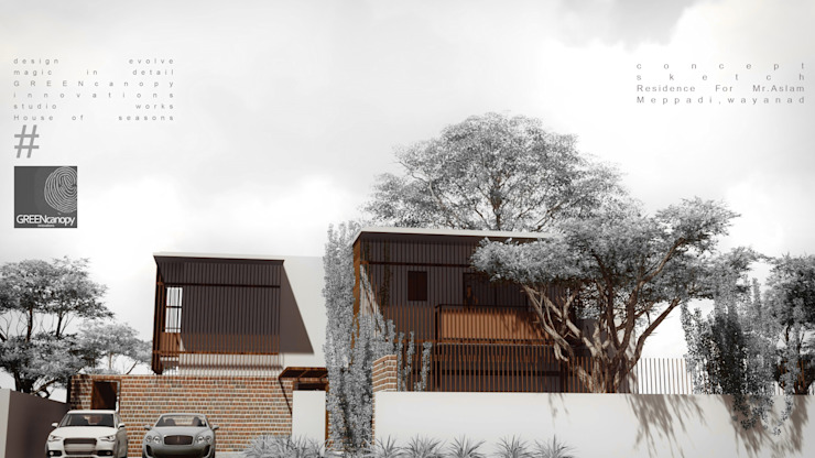 HOUSE OF SEASONS by GREENcanopy innovations Minimalist
