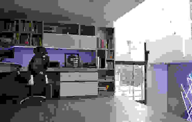 Phòng học/văn phòng phong cách chiết trung bởi ESTUDIO DUSSAN Chiết trung