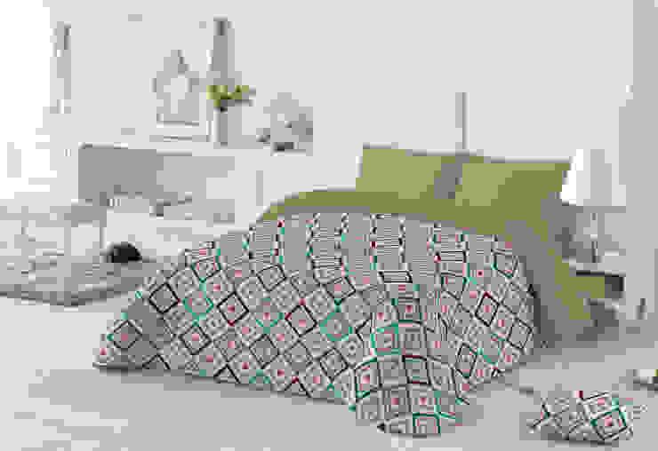 Edredondes de microfibra Dormitorios de estilo mediterráneo de Navarro valera cortinas y hogar Mediterráneo