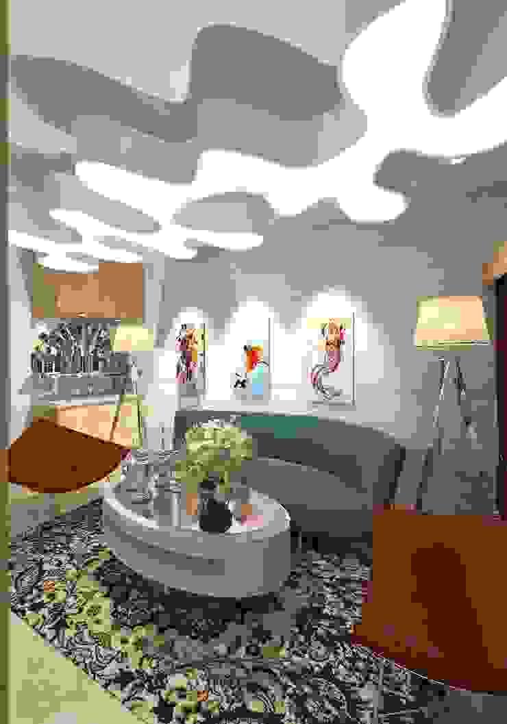 Prashant Residence Asian style living room by Gurooji Designs Asian