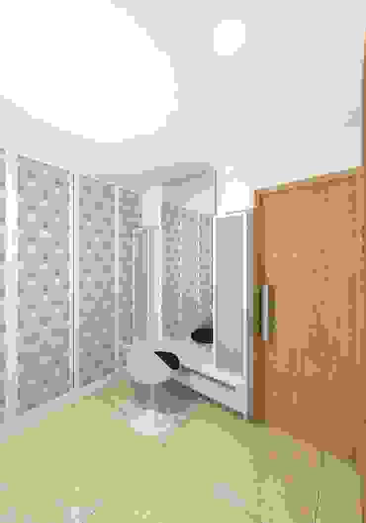 Prashant Residence Asian style dressing room by Gurooji Designs Asian