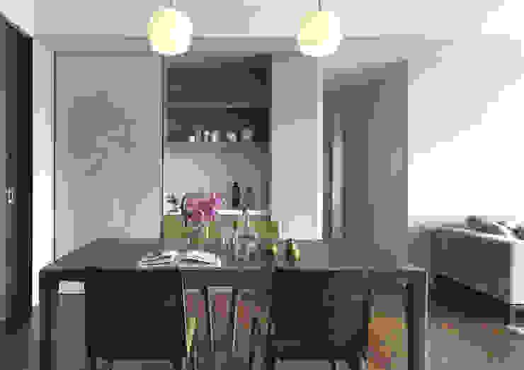 大毅家風景L宅 根據 Ho.space design 和薪室內裝修設計有限公司 簡約風