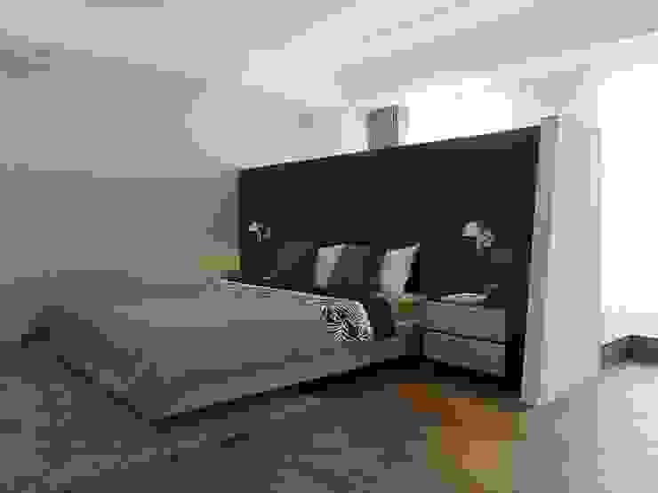 Schlafzimmer von Ho.space design 和薪室內裝修設計有限公司, Minimalistisch
