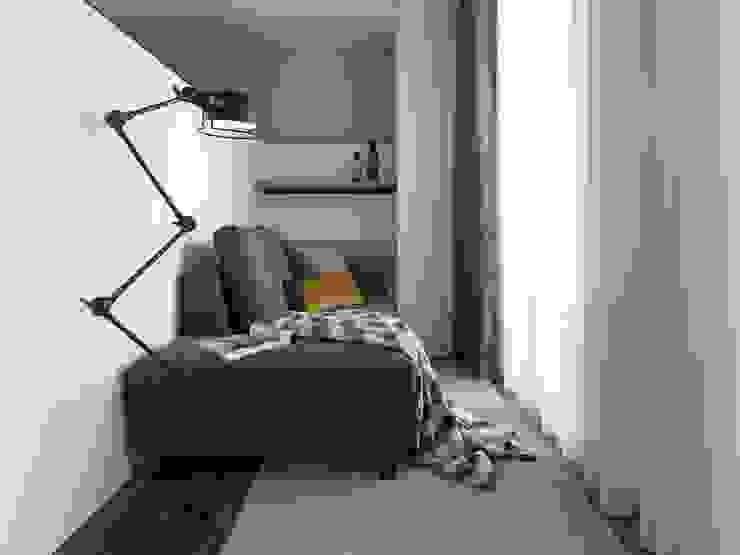 國泰森林觀道L宅 根據 Ho.space design 和薪室內裝修設計有限公司 簡約風