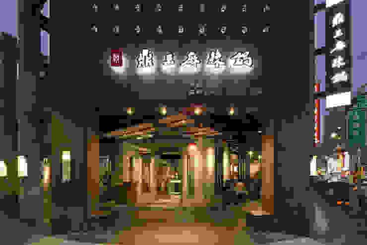 鼎王麻辣火鍋/高雄明華店 根據 Ho.space design 和薪室內裝修設計有限公司 日式風、東方風
