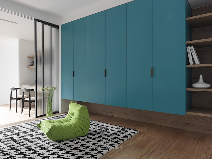 國泰森林苑T宅 根據 Ho.space design 和薪室內裝修設計有限公司 現代風