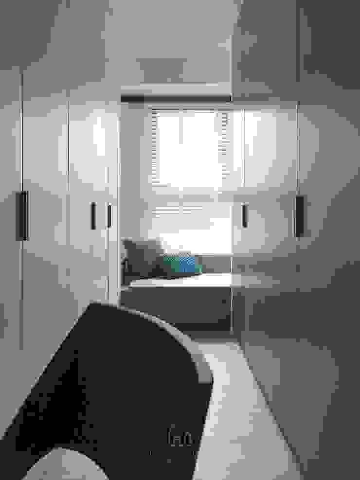 景川匯L宅 根據 Ho.space design 和薪室內裝修設計有限公司 現代風